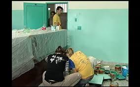 Lei da Igreja: Peregrinos do Butão são confortavelmente alojados em separado dos peregrinos do Peru.